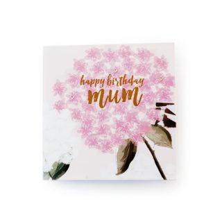 Birthday Card - Happy Birthday - Botanicals