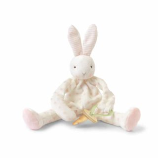 Bunnies By The Bay - Pink Polka Dots Blossom Bunny