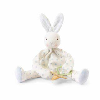Bunnies By The Bay - Blue Polka Dots Bud Bunny