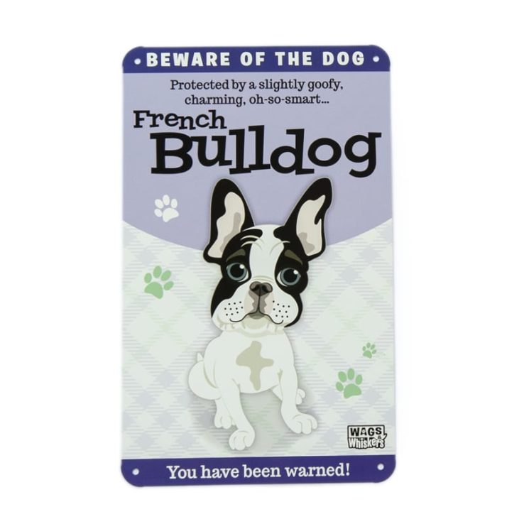Wags & Whiskers Plaques - French Bulldog