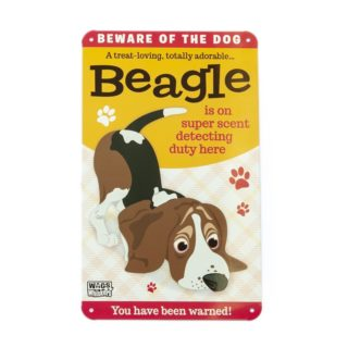 Wags & Whiskers Plaques - Beagle