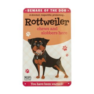 Wags & Whiskers Plaques - Rottweiler