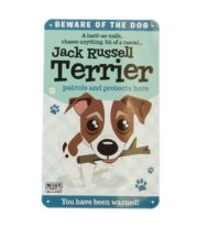Wags & Whiskers Plaques - Jack Russell Terrier