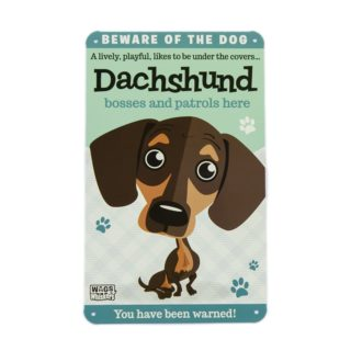 Wags & Whiskers Plaques - Dachshund