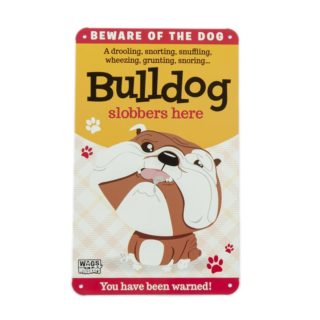 Wags & Whiskers Plaques - Bulldog
