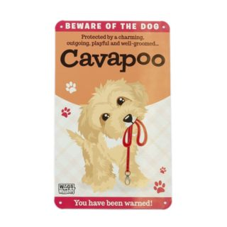Wags & Whiskers Plaques - Cavapoo