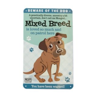 Wags & Whiskers Plaques - Mixed Breed