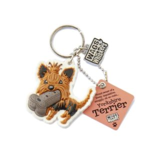 Wags & Whiskers Keyring - Yorkshire Terrier