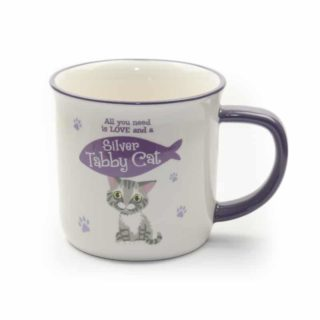 Wags & Whiskers Mugs - Silver