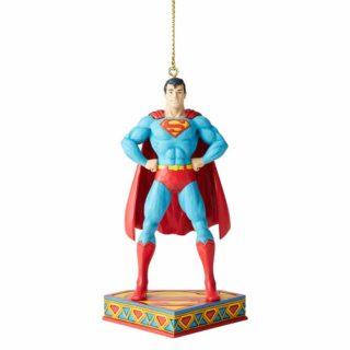 Jim Shore DC Comics - Superman Hanging Ornament