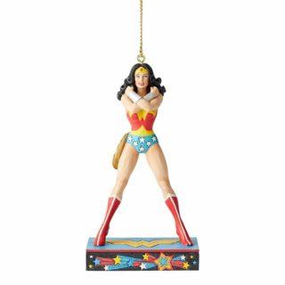 Jim Shore DC Comics - Wonder Woman Hanging Ornament