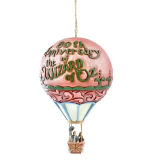 Jim Shore Wizard of Oz - Hot Air Balloon Hanging Ornament