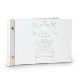 Disney Princess - Cinderella & Prince Charming Guest Book
