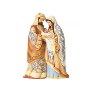 Heartwood Creek - Blessed Be This Holy Three Figurine