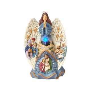 Heartwood Creek - Lighted Nativity Angel Musical