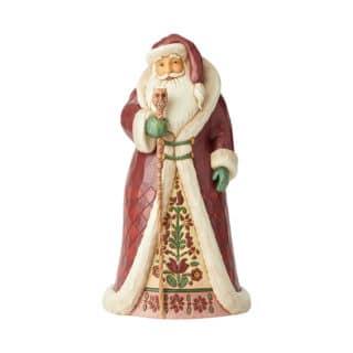 Heartwood Creek - Santa With Cane Figurine
