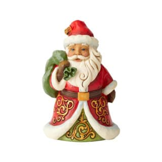 Heartwood Creek - Pint Sized Santa With Bag Figurine