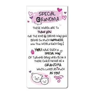 Inspired Words Magnetic Bookmarks - Special Grandma