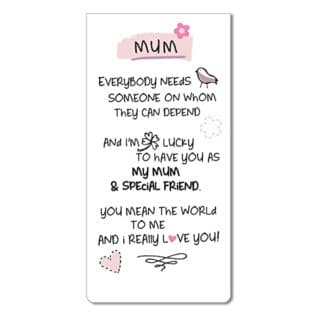Inspired Words Magnetic Bookmarks - Mum