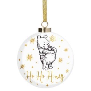 Disney Christmas Bauble - Pooh Ho Ho Honey