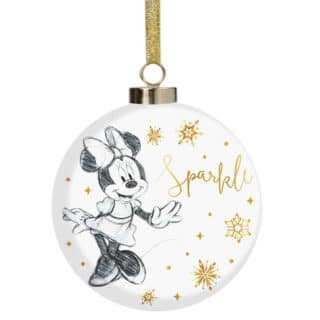 Disney Christmas Bauble - Minnie Mouse Sparkle