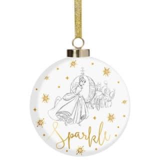 Disney Christmas Bauble - Cinderella Sparkle