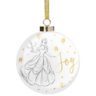 Disney Christmas Bauble - Belle Joy