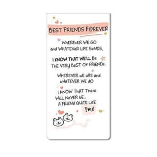 Inspired Words Magnetic Bookmarks - Best Friend Forever