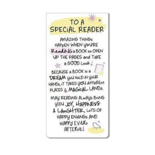 Inspired Words Magnetic Bookmarks - Special Reader