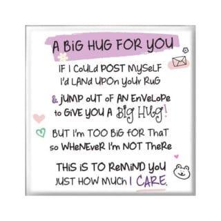 Inspired Words Magnet - Big Hug