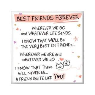 Inspired Words Magnet - Best Friend Forever