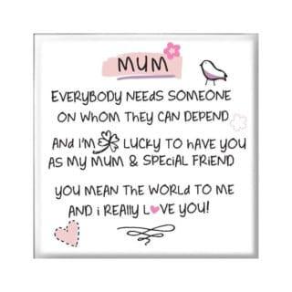 Inspired Words Magnet - Mum