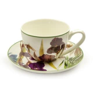 Heritage India Imports - Botanica Tea Cup & Saucer