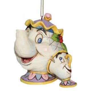 Disney Traditions - Mrs Potts & Chip Hanging Ornament