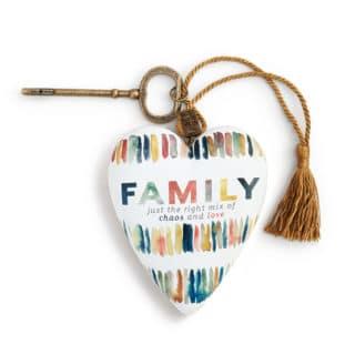 Art Heart Sculpture - Family Chaos