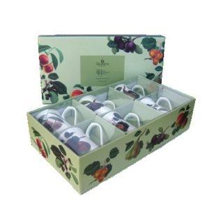 Queens Mug 6AT Hookers Fruit 200ml/7oz Royale Mugs (S/6)