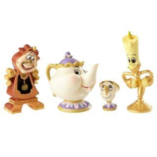 "Disney Showcase Figurines 6.3cm/2.5"" Enchanted Objects (S/4)"