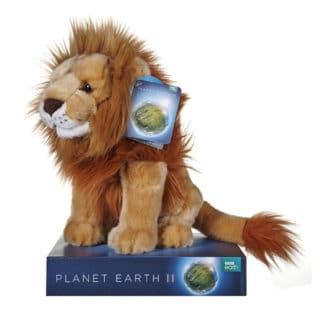 BBC Earth Lion plush 25cm