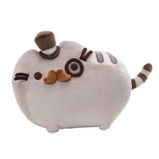 PUSHEEN FANCY WITH TOP HAT AND MONACLE 32CM
