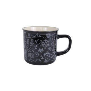 Artique Fish Icons Retro Mug