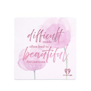 You Are An Angel Fridge Magnet Difficult roads