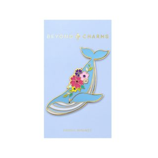 Beyond Charms Enamel Magnets Whale