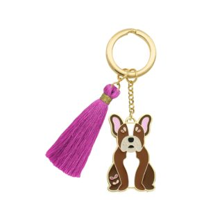 Beyond Charms Keychain French Bulldog