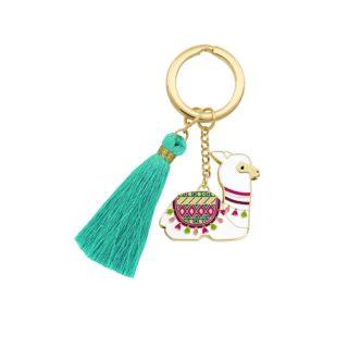 Beyond Charms Keychain Llama