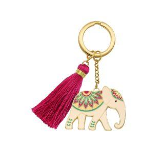 Beyond Charms Keychain Elephant