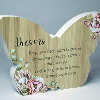 Bunch Of Joy Butterfly Plaque Dreams