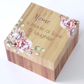 Bunch Of Joy Trinket Box 12cm Home