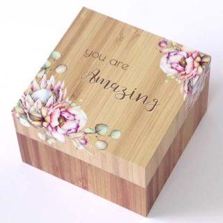 Bunch Of Joy Trinket Box 12cm You Are Amazing