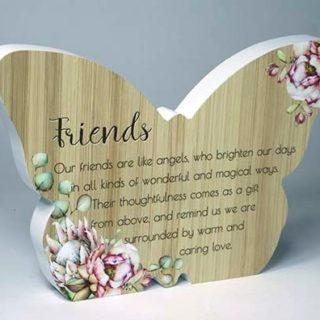 Bunch Of Joy Butterfly Plaque Friends
