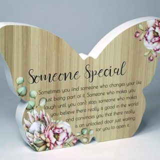 Bunch Of Joy Butterfly Plaque Someone Special